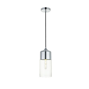Ashwell Chrome Five-Inch One-Light Mini Pendant
