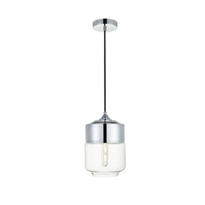 Ashwell Chrome Seven-Inch One-Light Mini Pendant