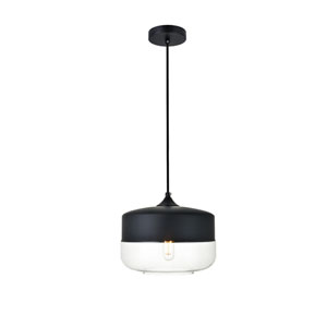 Ashwell Black 10-Inch One-Light Pendant