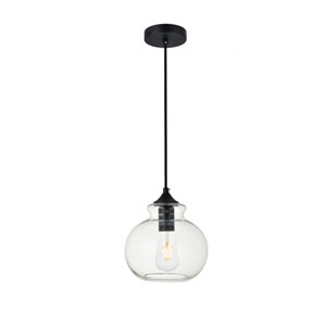 Destry Black One-Light Mini Pendant