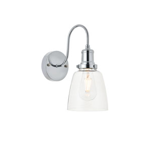 Felicity Chrome Six-Inch One-Light Wall Sconce
