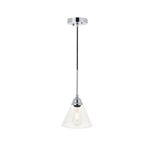 Histoire Chrome Seven-Inch One-Light Mini Pendant