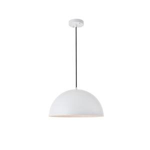 Forte White 16-Inch One-Light Pendant