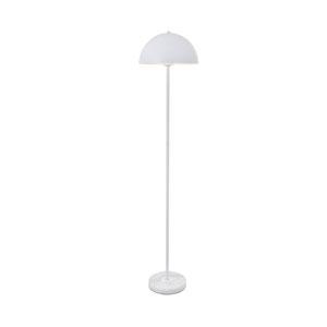 Forte White 14-Inch One-Light Floor Lamp