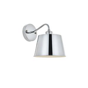 Nota Chrome Eight-Inch One-Light Bath Vanity