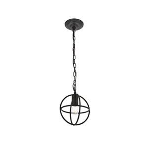Octavia Dark Brown Eight-Inch One-Light Mini Pendant