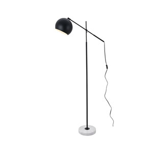 Aperture Black and White 11-Inch One-Light Floor Lamp