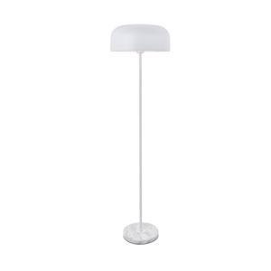 Exemplar White 17-Inch One-Light Floor Lamp