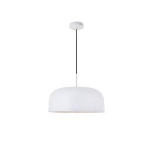 Etude White 17-Inch One-Light Pendant