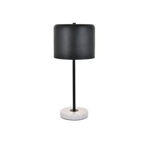 Exemplar Black and White Nine-Inch One-Light Table Lamp