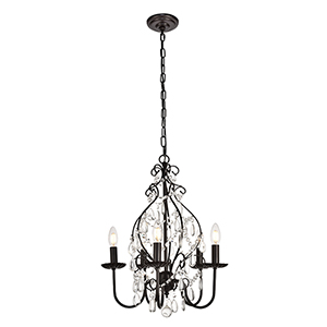 Blaise Oil Rubbed Bronze Five-Light Pendant