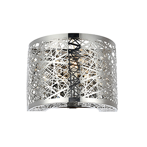 Owen Chrome One-Light Wall Sconce