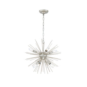 Timber Champagne 20-Inch Eight-Light Pendant