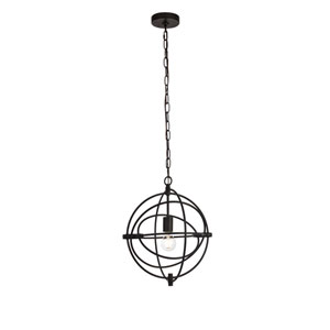 Colby Black 14-Inch One-Light Pendant