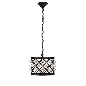 Camden Black One-Light Pendant