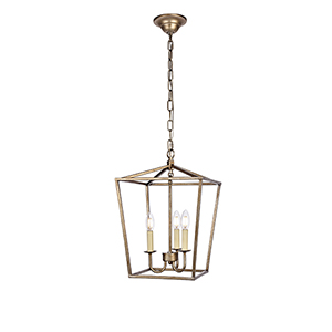 Maddox Vintage Sliver Three-Light Pendant
