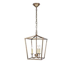 Maddox Vintage Sliver Three-Light Pendant