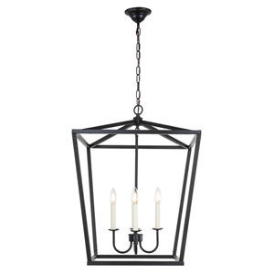 Maddox Black Four-Light Pendant
