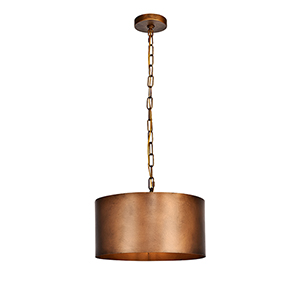 Miro Manual Brass One-Light Pendant