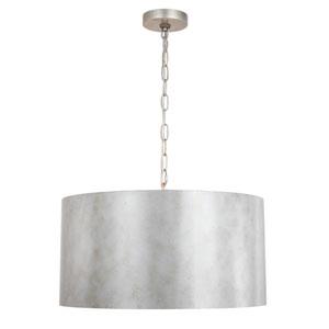 Miro Vintage Silver Three-Light Pendant