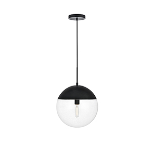 Eclipse Black 14-Inch One-Light Pendant
