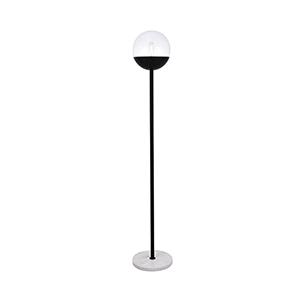 Eclipse Black 62-Inch One-Light Floor Lamp