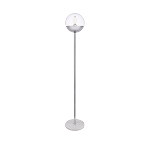 Eclipse Chrome 62-Inch One-Light Floor Lamp