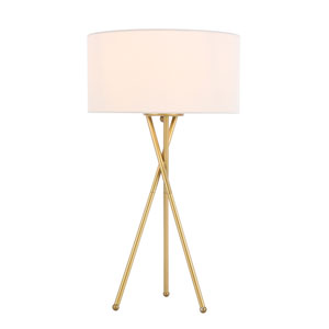 Cason Brass 22-Inch One-Light Floor Lamp