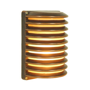 Ogun Oil Bronze Seven-Inch One-Light Outdoor Wall Sconce