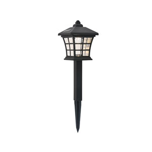 Dux Black 4-Inch LED Outdoor Path Light, Pack of Six