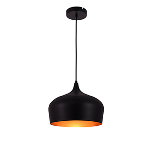Nora Black One-Light Pendant