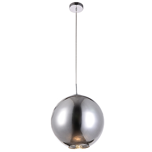 Reflection Chrome 15-Inch One-Light Pendant