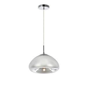 Reflection Chrome Seven-Inch One-Light Pendant