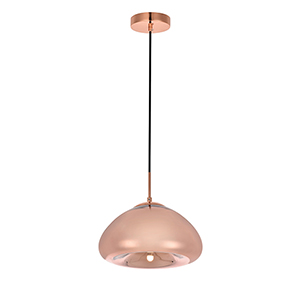 Reflection Copper Seven-Inch One-Light Pendant