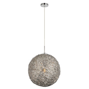 Lilou Chrome One-Light Pendant