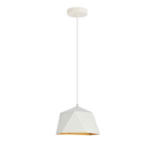 Arden White 10-Inch One-Light Pendant