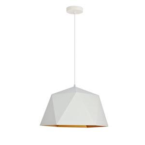 Arden White 18-Inch One-Light Pendant
