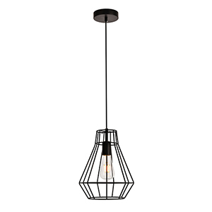 Jago Black 12-Inch One-Light Mini Pendant