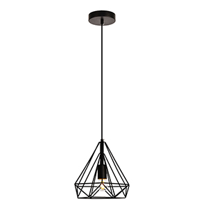 Jago Black Nine-Inch One-Light Mini Pendant