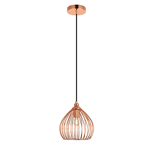 Sayer Copper One-Light Mini Pendant