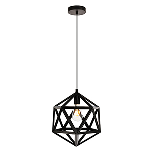 Redmond Black 13-Inch One-Light Pendant