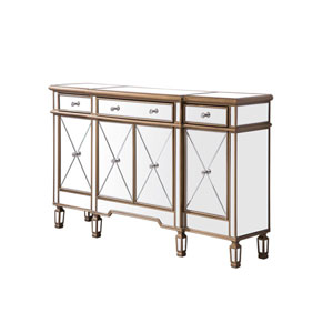 Contempo Antique Gold 60-Inch Sideboard