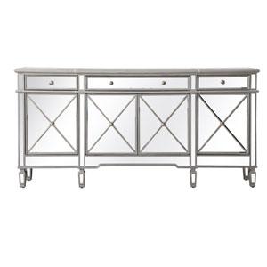 Contempo Silver 72-Inch Sideboard