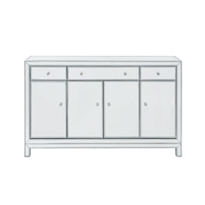 Reflexion Antique Silver 56-Inch Sideboard