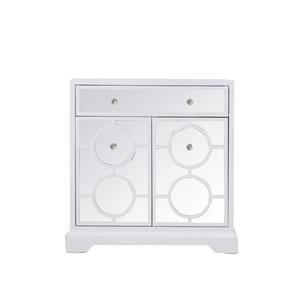 Modern White 32-Inch Cabinet