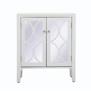 Modern White 28-Inch Cabinet