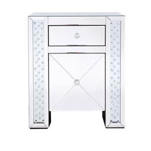 Modern Clear Crystal 22-Inch Cabinet