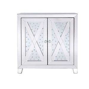 Modern Clear Crystal 28-Inch Cabinet