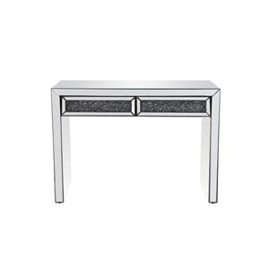 Modern Silver 44-Inch Desk