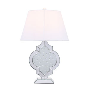 Sparkle Chrome 18-Inch One-Light Table Lamp